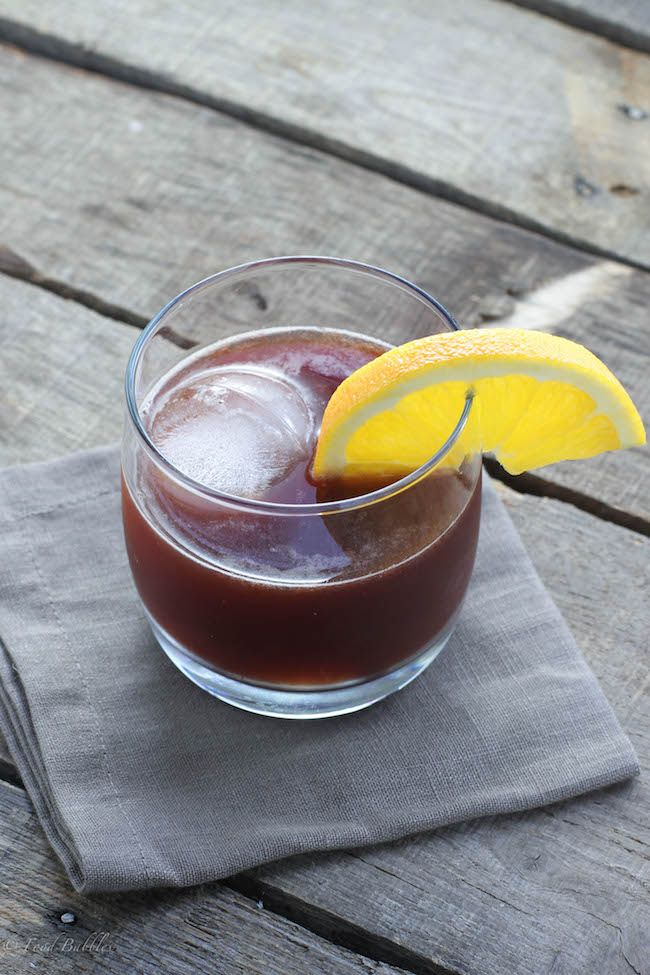 Cherry Brandy Old Fashioned - FoodBabbles.com