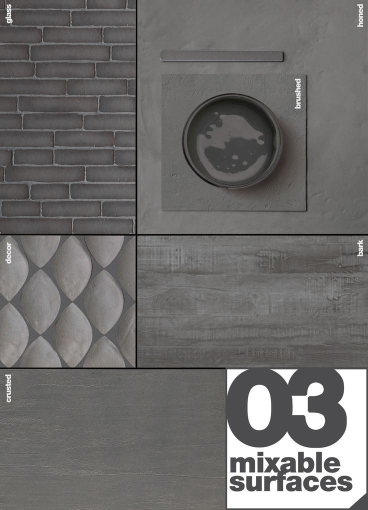 MATERIA PROJECT 03 - Stylist #moodboard #dark #grey