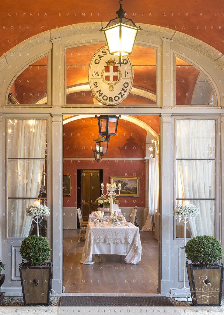 Rosa Cipria e il Castello di Morozzo su http://tulleeconfetti.com/