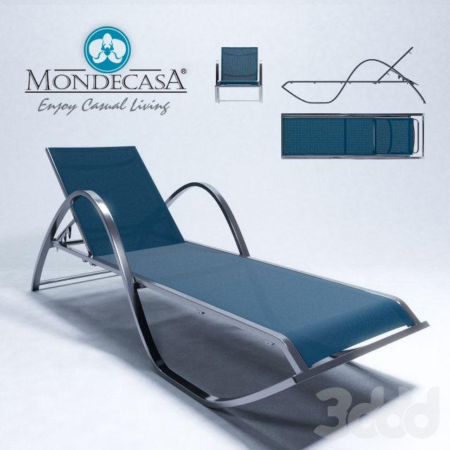 Mondecasa Sunlounger Outer Garden Sun Lounger Pool Furniture