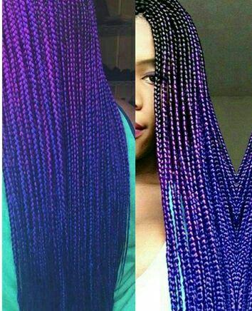 Purple braid                                                                                                                                                                                 More