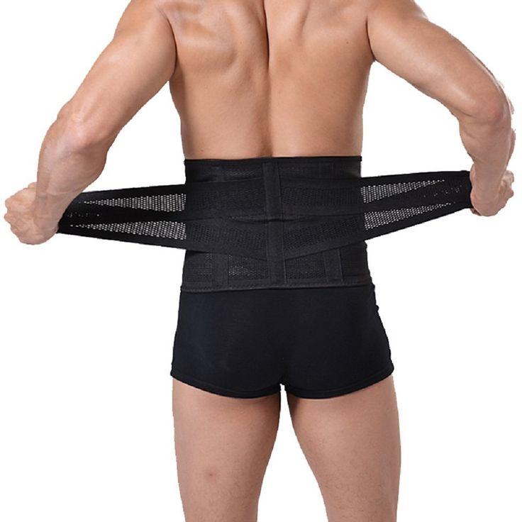 "Healthcom Pro Men's Waist Trimmer Belt Lightweight Elastic Ajustable Sports Belt Breathable Lumbar Lower Back Tranier Support Brace Belt Body Shaper Weight Loss Exercise Belly Belt,Black(Size:M). #BlackSizeM, #Healthcom #WeightLoss Healthcom Waist Trimmer Belt-Tummy Fat Burning Slimming Waist Trainer Belt SIZE INFORMATION:  M :fit for waist:22.3-30.2 inch,width:8"" L:31.5-35.4 inch,width:8"" XL:36.7-40.7 inch,width:8"" XXL:42-45.9 inch,width:8"" Woman's"