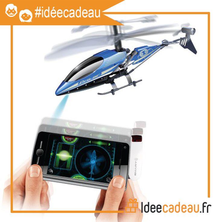 L'hélicoptère télécommandé pour smartphone et tablette (59,90) !