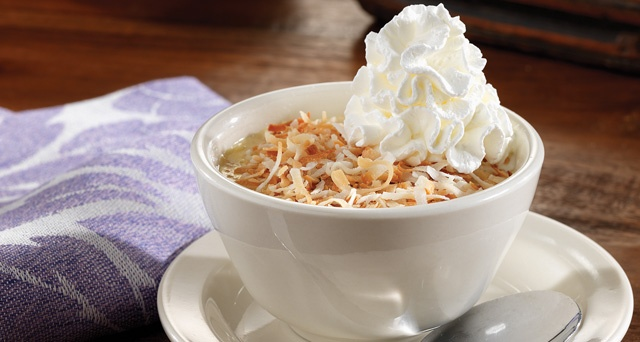 Cant wait to try this! Crustless Coconut Cream Pie @Cracker Barrel Old Country Store