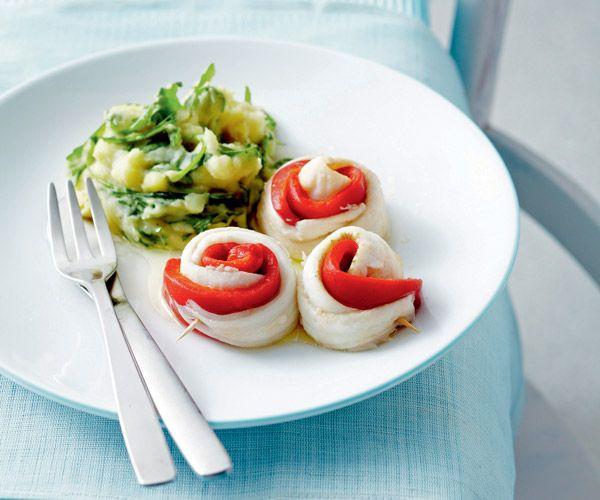On se dit que les recettes minceur doivent souvent manquer de goût, mais ce n'est pas le cas dans ce plat grâce au poivron, qui assaisonne le tout.