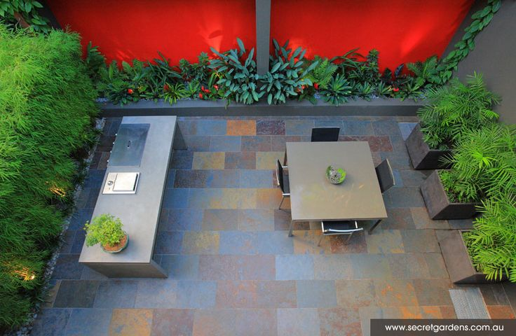 10 images about small garden courtyard ideas on for Courtyard landscaping sydney
