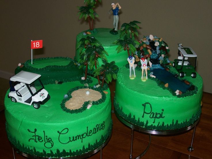 Cake Decorating Ideas Golf Theme : 17 Best images about golf cake ideas on Pinterest Golf theme, Golf themed cakes and Golf ball
