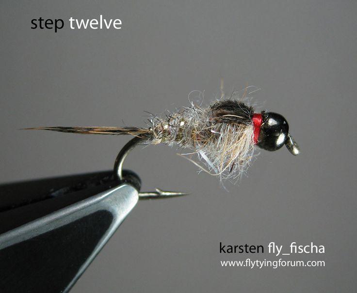 Tungsten bead head GRHE - Step by Step Patterns & Tutorials - Fly Tying