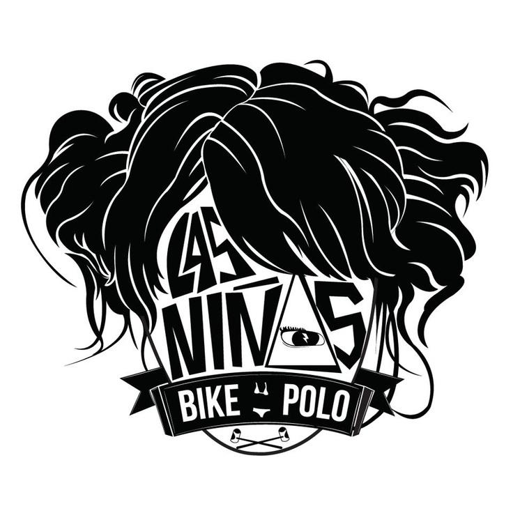 """Liga femenina de bike-polo Stgo de Chile """"Las Niñas"""""""