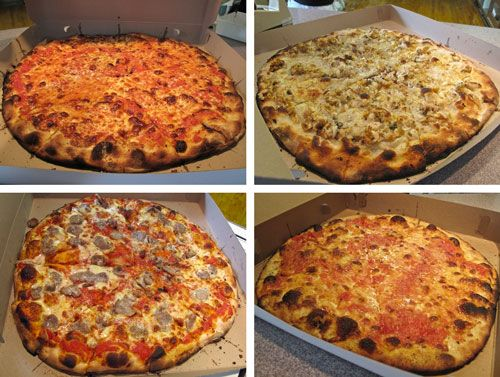 Frank Pepe's in New Haven, Connecticut - New Haven Style Pizza put ALL other pizza's to shame! Favorite of Frank Sinatra.