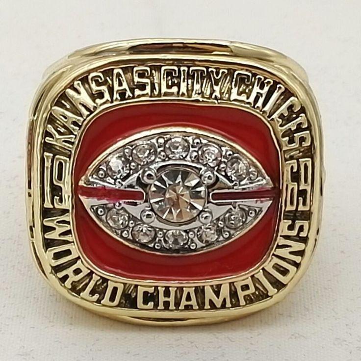 工場直接販売送料無料不良1969カンザスシティ·チーフス世界ドーソン選手権リング