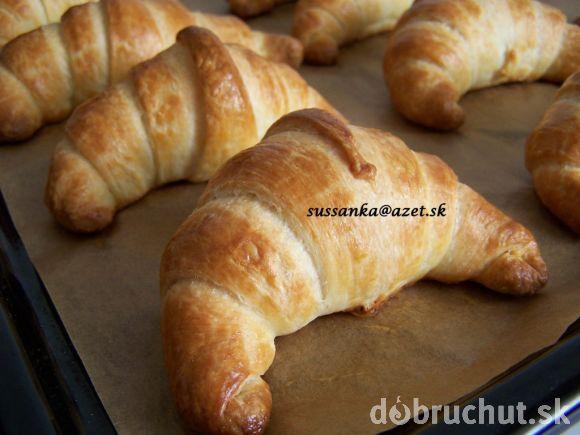 Fotorecept: Croissanty   Dobruchut.sk