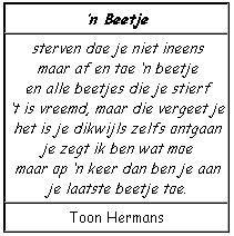 Toon Hermans - 'n Beetje