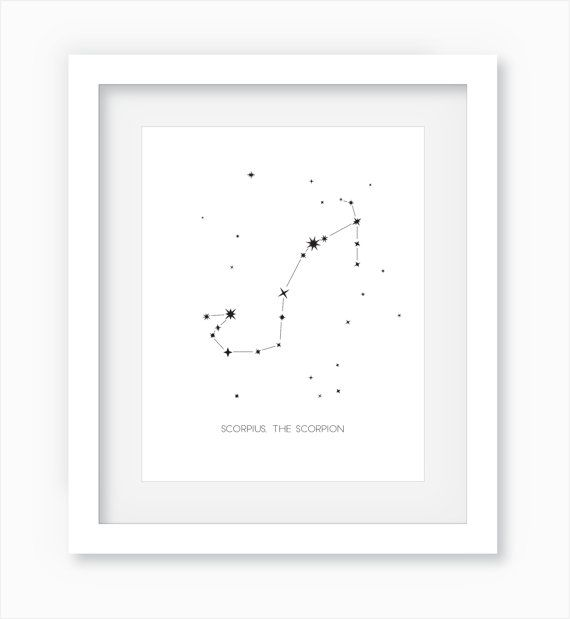 Scorpius The Scorpion Constellation   Scorpio by WandererCreative