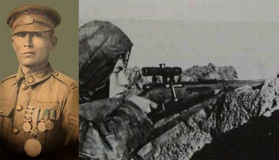 Legendary Ojibwa sniper unsung hero of WW I