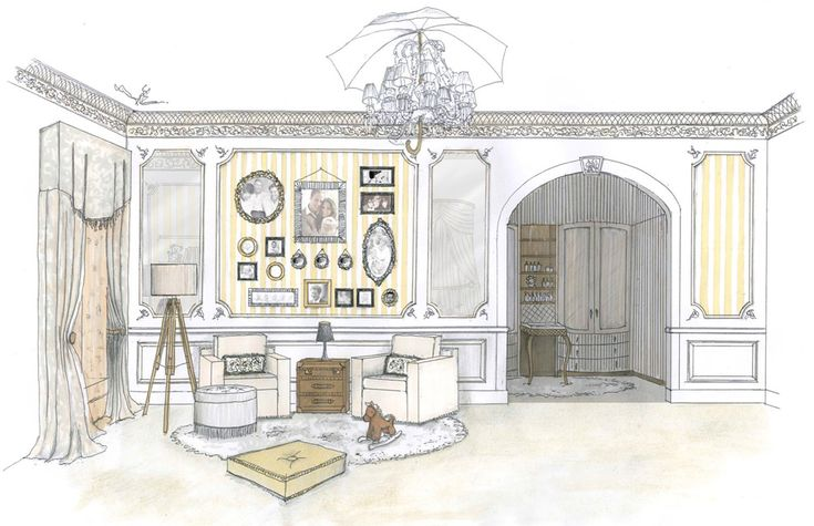 Inside a royal nursery: what William and Kates special is likely to look like - hellomagazine.com