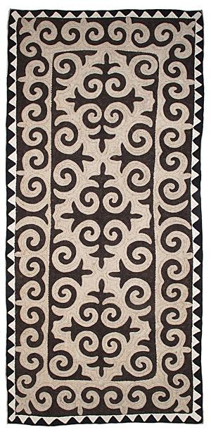 Felt - unique shyrdak felt rugs - Rugs from Kyrgyzstan http://www.feltrugs.co.uk/