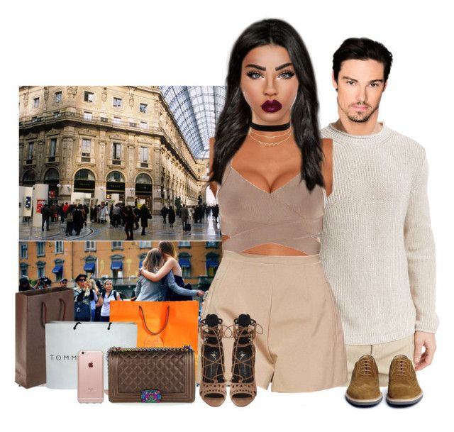 Milan - Meet and greet +Shopping with Dad #33 by deeplove111 on Polyvore featuring polyvore fashion style Giuseppe Zanotti Chanel Charlotte Russe Incase Ermenegildo Zegna Canali Tommy Hilfiger Hermès Louis Vuitton clothing