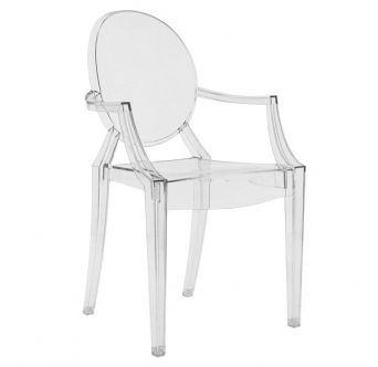KARTELL židle Louis Ghost čirá