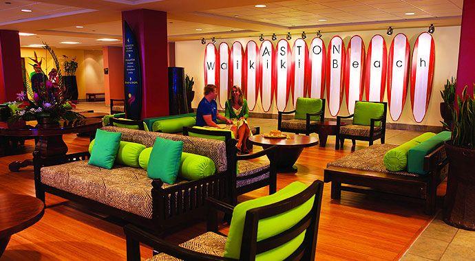 Aston Waikiki Beach Hotel.