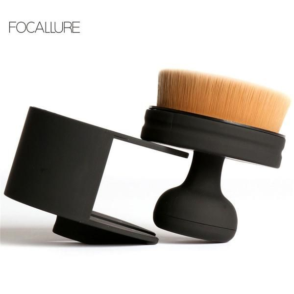FOCALLURE  Round Make Up Brushes For Liquid Cosmetic