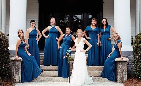 Платье трансформер для подружек невесты