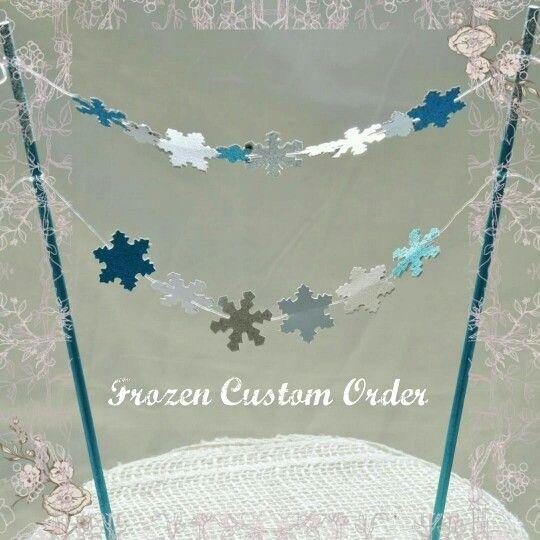 Frozen custom order