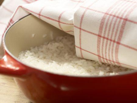 Gekochter Sushi-Reis Zubereitung Schritt 4
