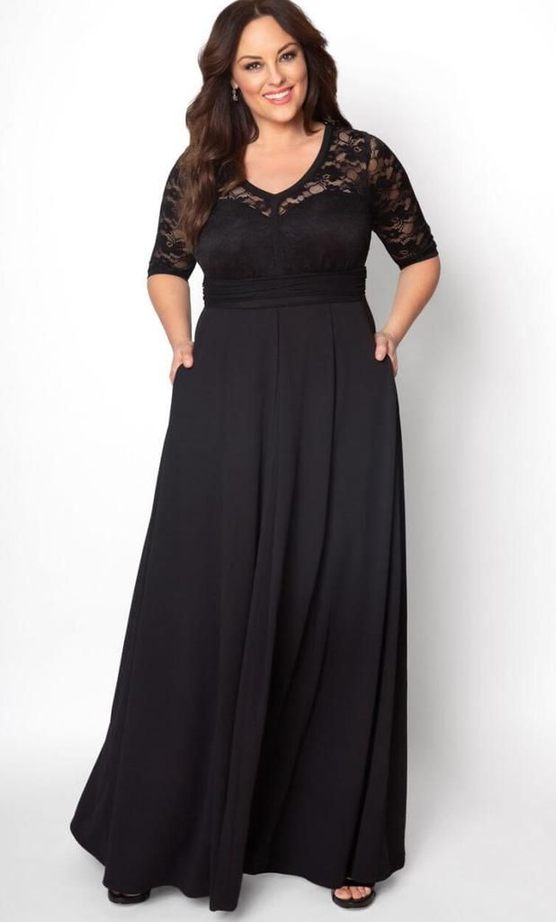 Kiyona Cocktail with Pockets Lace Formal Dress | Evening gowns