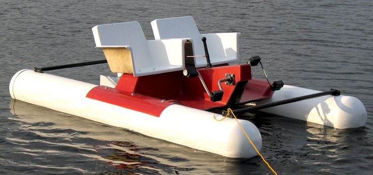 Check out the Mini Pontoon Pedal Boat! This pontoon pedal boat is great for recreational, parks, and commercial use! The floor and seats are manufactured of fiberglass. Stainless steel paddle blades cranks and support beams. For more Information or to order, visit this items official page on DirectBoats.com. http://directboats.com/fipebo.html