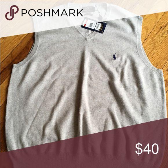 Polo Ralph Lauren Men's shirt Pima cotton V-neck pullover vest Polo by Ralph Lauren Sweaters V-Necks
