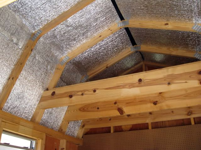 Barn Loft With Insulation By TUFF SHED Storage Buildings