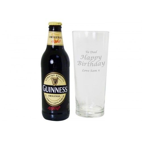 Personalised Guinness Gift Set  from www.personalisedweddinggifts.co.uk :: ONLY £19.95