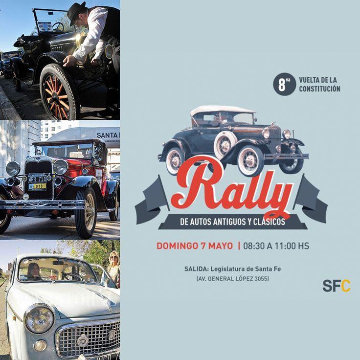 7 Mayo Santa Fe - Rally Autos Antiguos - Region Litoral