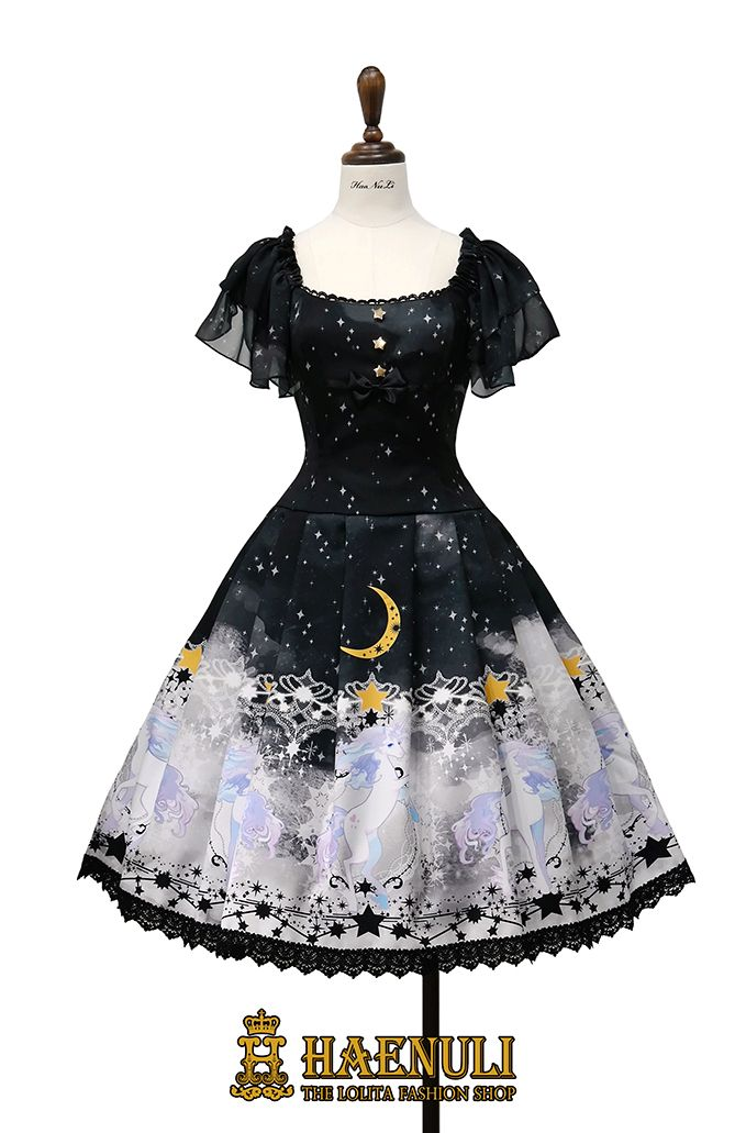 Planetary Dreamer Item Type : OP/  JSK / Skirt  - 3 type Size : 4 size- S/ M/ L / XL   No Custom size. Colorway : Purple / Black /Blue  - 3 colors Price : 270 usd / 250usd /  190usd Acc Type : Head Dress / Haed bow / Tights /Star-pin / Star-chain-Pin/ Ring(4 type) / Nechlace - 7 type