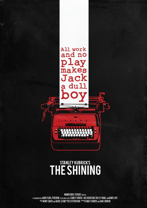"""The Shining"" - A family heads to an isolated hotel for the winter where an evil and spiritual presence influences the father into violence, while his psychic son sees horrific forebodings from the past and of the future. Photo and info credit: IMDb."
