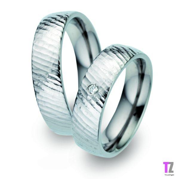 Titanium trouwringen T52367