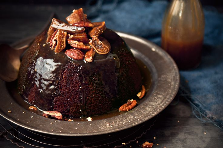 Katie Quinn Davies says, I dare any sticky toffee pudding fan not to lick the bowl clean.