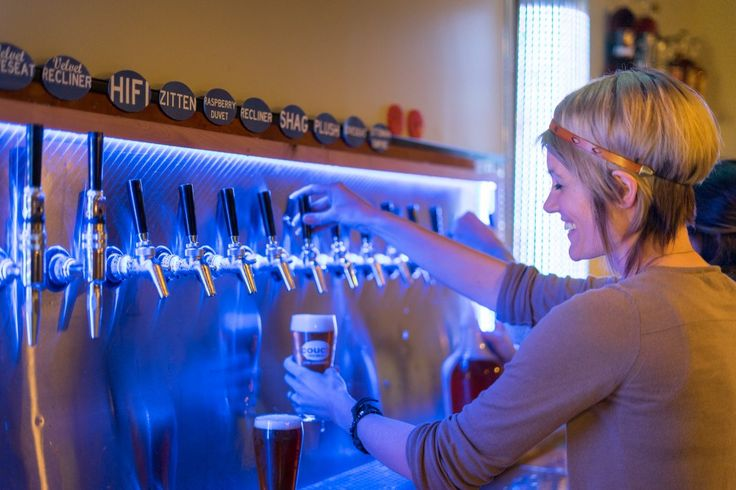 """""""There's no better place to drink a beer than on your couch,"""" says Couch Brewery co-owner and CEO Darren Gailey."""