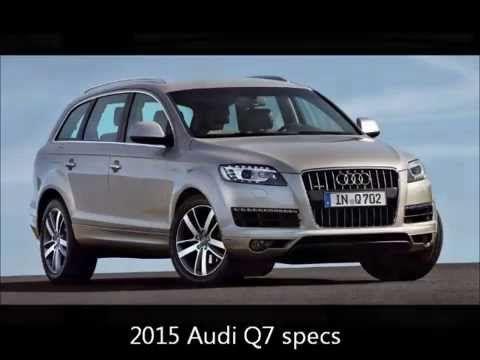 2015 Audi Q7 interior and price