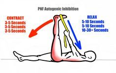 Stretching - PNF Stretching Technique - Autogenic Inhibition - Contract - Relax