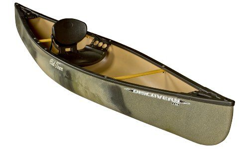 Old Town Canoes & Kayaks Discovery 119 Solo Canoe, Camouflage, 11-Feet 9-Inch