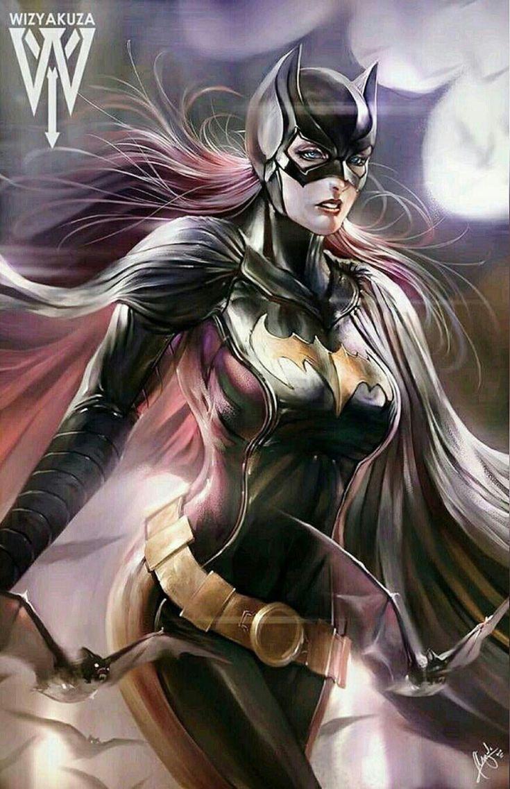 Stephanie Brown Batgirl by Wizyakuza
