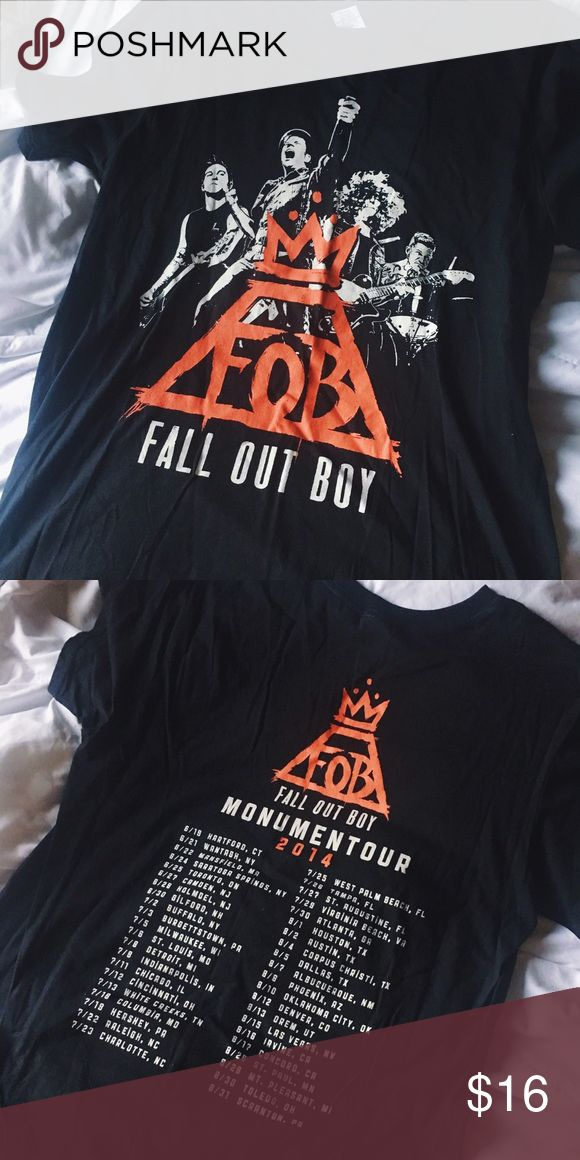 Fall Out Boy Tour Shirt 2014 Monumentour Shirt / Fall Out Boy! Never worn! fall out boy  Shirts Tees - Short Sleeve