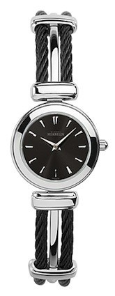 Michel Herbelin Ladies Two Tone Black