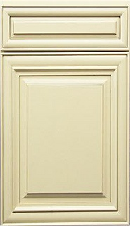 J Alabaster Glazed Door by Below Wholesale Cabinets, via Flickr