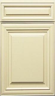 J Alabaster Glazed Door by Below Wholesale Cabinets, via Flickr