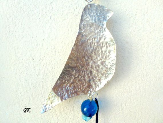 Art Bird Handmade Hanging Decoration Wall by GeorgiaCollection, €21.00