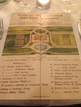 The Ivy Chelsea Garden, London Picture: the menu - Check out TripAdvisor members' 53,012 candid photos and videos of The Ivy Chelsea Garden