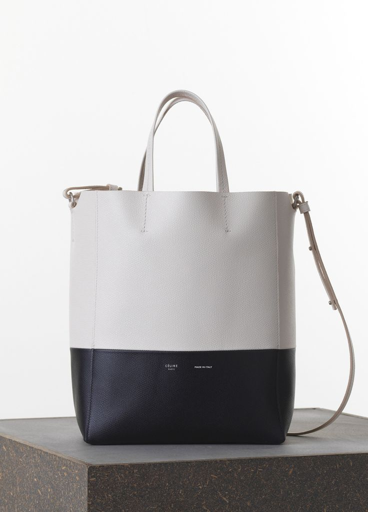 my next bag...Small Vertical Bi-Cabas in Grained Calfskin - Fall / Winter Collection 2015 | CÉLINE